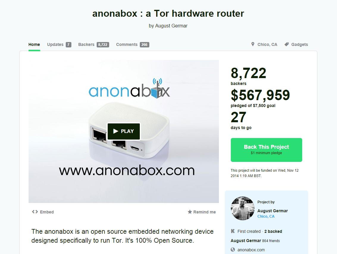anonabox kickstarter